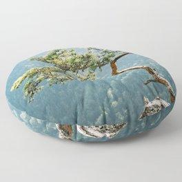 Sokolica Mountain Pine Tree Floor Pillow
