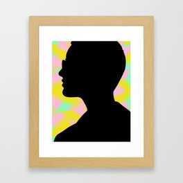 I'm the fury in your head Framed Art Print
