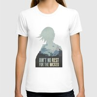borderlands T-shirts featuring Borderlands 2 - Ain't No Rest for the Wicked by Art of Peach