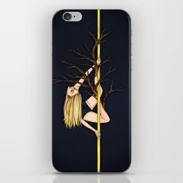Poletober - Creepy Trees iPhone Skin