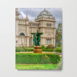 Royal Exhibition Building Garden Metal Print