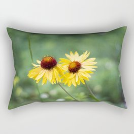 Blanket Flowers Rectangular Pillow