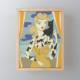 No Fear of Wonder Framed Mini Art Print