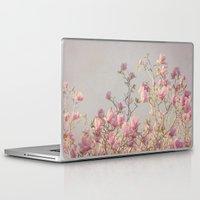 magnolia Laptop & iPad Skins featuring Magnolia  by Pure Nature Photos