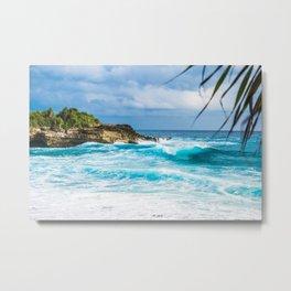 Tropical Ocean Metal Print