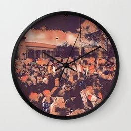 Denver Women's March Wall Clock