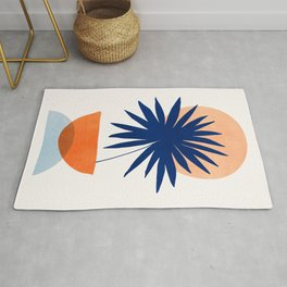Islands in The Sun / Abstract Shapes Rug