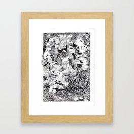 Enormous Joy Framed Art Print
