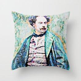 Richard Georg Strauss (1864 – 1949) (digitized photograph) Throw Pillow
