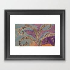 Treet Me Well Framed Art Print