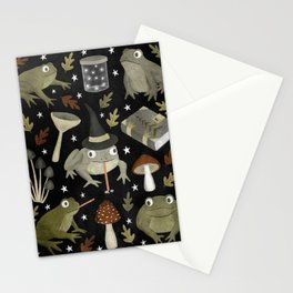 toad spells Stationery Cards