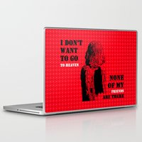 oscar wilde Laptop & iPad Skins featuring Oscar Wilde #7 I don't want to go to heaven by bravo la fourmi