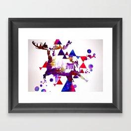 Too Moose Framed Art Print