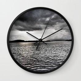 Cloudy Seascape - Oban Wall Clock