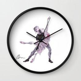 Natalia Osipova and Matthew Ball in Romeo and Juliet Wall Clock