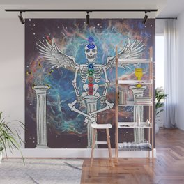 Skeleton of Peace Wall Mural
