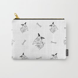 Barks and Bones Carry-All Pouch