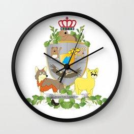 Coat of Arms 3 Wall Clock