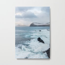 Waves of the Atlantic Metal Print