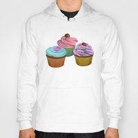 cupcakes Hoodies featuring Cupcakes!  by Megs stuff...