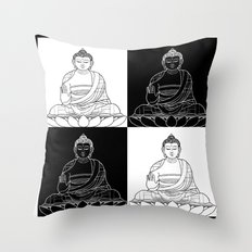 Ying & Yang Throw Pillow