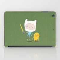 jake iPad Cases featuring Finn & Jake by Rod Perich