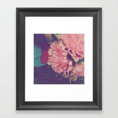 fresh pink Framed Art Print