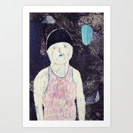 swimmer #1 Art Print