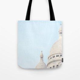 Blue Paris Tote Bag