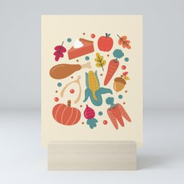 Thanksgiving Dinner Mini Art Print