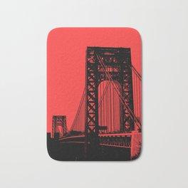 George Washington Bridge Bath Mat