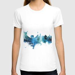 Lawrence Kansas Skyline T-shirt