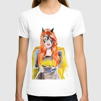batgirl T-shirts featuring BATGIRL by Clementine Petrova