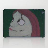 nightmare before christmas iPad Cases featuring SALLY/NIGHTMARE BEFORE CHRISTMAS by Kathead Tarot/David Rivera
