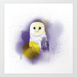 The Calm Owl Art Print