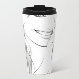 """Candice"" Metal Travel Mug"