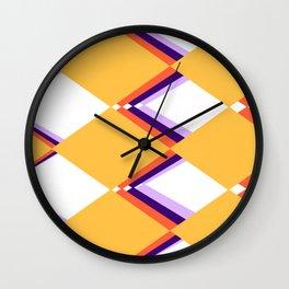 yellow rhumba Wall Clock