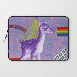 rainbow deer 1 Laptop Sleeve
