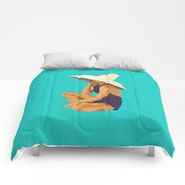 Criss Cross Applesauce Comforters
