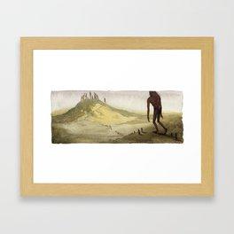 Goodbye Framed Art Print