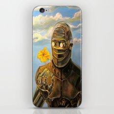 Robot & Flower iPhone & iPod Skin