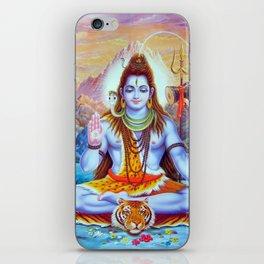 Lord Shiva Hindu Religion God Orient Spiritual Yoga Meditation iPhone Skin