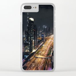 Sandbox City Clear iPhone Case