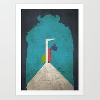 Monsters in the Closet Art Print