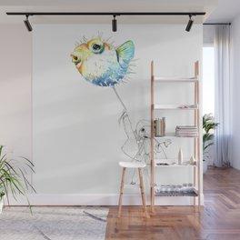Pufferfish - Puffed up Wall Mural