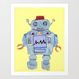 Robot Robotic! Art Print
