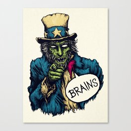 Brains Canvas Print
