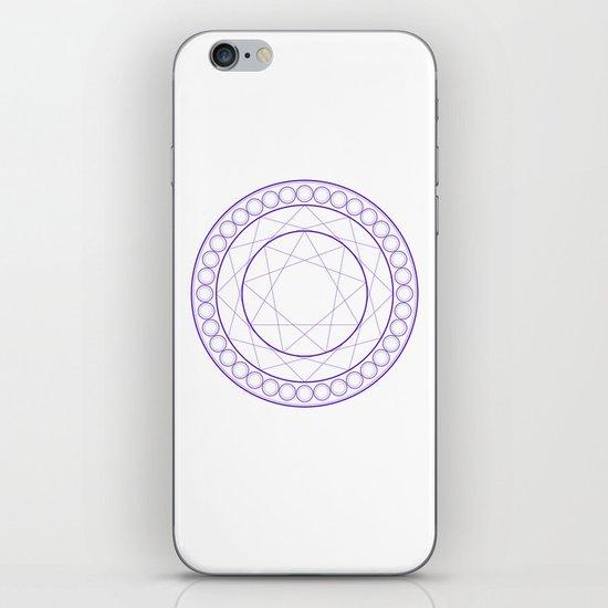 Anime Magic Circle iPhone & iPod Skin