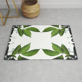 Mesmerizing Nature | Leafy Frame Up Rug