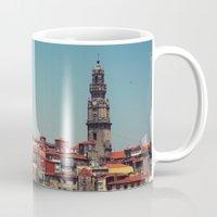 portugal Mugs featuring Porto Portugal by Pilgrim